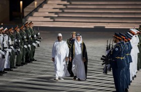رئيس مالي يزور واحة الكرامة