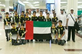 مجلس دبي الرياضي في وداع ناشئي الوصل للمشاركة في بطولة دانون للأمم لكرة القدم