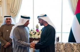 محمد بن زايد يبحث مع الزياني الأوضاع على الساحة الخليجية وتطورات العمل الخليجي المشترك