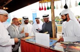 مشاركة نوعية لنادي تراث الإمارات في مهرجان الصداقة الدولي الرابع للبيزرة