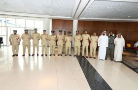 اللواء المري يطلع على مشروع تدريب حراس الأمن