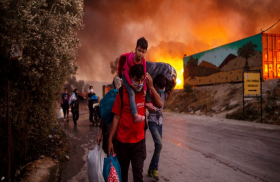 بعد حريق معسكر موريا، الإنسانية تفنى في ليسبوس...!