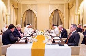 عبدالله بن زايد يترأس الاجتماع الرباعي حول اليمن في أبوظبي