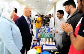 «معرض الأندية الطلابية»  في جامعة أبوظبي منصة اجتماعية وثقافية رائدة