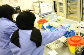 التوطين في التخصصات الفنية المساندة بنسبة 100 % بمستشفى المفرق