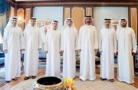 حميد النعيمي يستقبل رئيس وأعضاء مجلس إدارة مؤسسة مواصلات عجمان