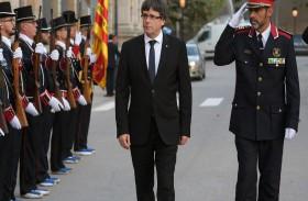 محاكمة قائد شرطة كاتالونيا على خلفية محاولة انفصال الإقليم