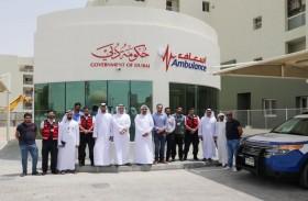 إسعاف دبي تدشن محطة إسعافية جديدة في بوابة الخيل