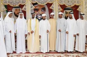 سلطان بن زايد يحضر زفاف راشد مهير جمعة السبوسي في العين