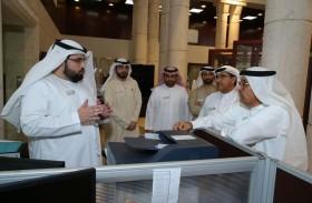 مدير عام محاكم دبي يثمن جهود مقدمي الخدمة