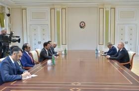 إلهام علييف: العلاقات الأذرية الإماراتية تشهد نموا كبيرا في مختلف المجالات