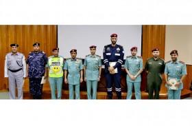 قائد عام شرطة رأس الخيمة يكرم الفائزين ببرنامج النجوم