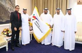 ولي عهد الفجيرة يستقبل رئيس اتحاد الإمارات للتايكواندو