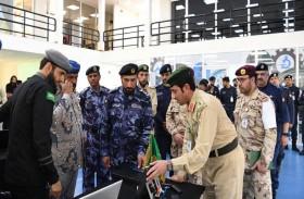 الشعفار يتفقد تدريبات تمرين أمن الخليج العربي 2