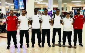 فريق التجديف الحديث لنادي الحمرية ممثل الدولة يغادر إلى تونس للمشاركة في البطولة العربية