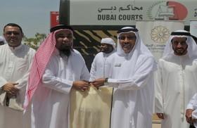 """فريق إسعاد الموظفين في محاكم دبي يوفد 80 لأداء مناسك العمرة ضمن مبادرتها """"أفرحهم بعمرة"""""""