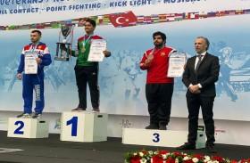 إنجاز جديد للكيك بوكسينج في بطولة العالم في تركيا