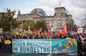 تظاهرة ضد اليمين المتطرف في ألمانيا