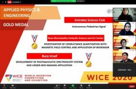 نادي الإمارات العلمي الأول عالميا في المسابقة الافتراضية للاختراعات العالمية