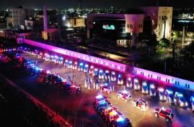 شرطة رأس الخيمة تشيد وتوفر 102 دورية لتمديد برنامج التعقيم الوطني