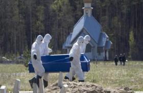 روسيا تسجل تراجعاً في الوفيات اليومية بكورونا