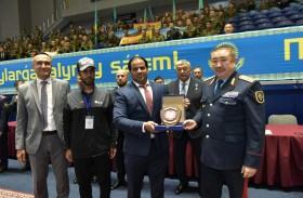 شرطة أبوظبي تشارك في البطولة العالمية للقتال بكازاخستان