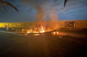 الإرهابيون يفرون من العراق بعد تصفية سليماني