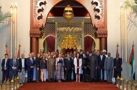 وفدٌ دبلوماسي رفيع المستوى يزور فعالية «المغرب في أبوظبي»
