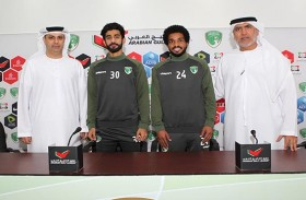 نادي الإمارات يجدد رسمياً عقدي خالد عمبر وعبد الله موسى