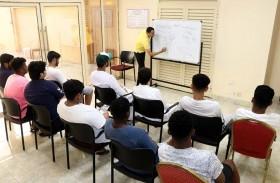 نادي الشارقة الرياضي ينظم دروس تقوية في كافة المناهج التعليمية للاعبيه