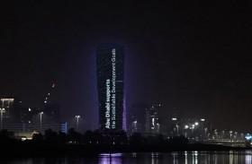 أبوظبي تضيء أبرز معالمها بشعار ملتقى الأهداف العالمية