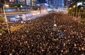 مسيرة في هونغ كونغ ضد تسليم مطلوبين للصين