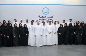 حمدان بن محمد يعلن 2021 موعدا لآخر معاملة ورقية حكومية في دبي