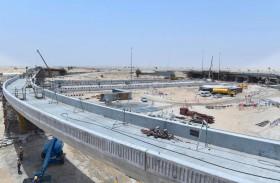 «طرق دبي» تنجز 65 % من مشروع تطوير تقاطع شارعي القدرة ولهباب