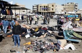عشرات الضحايا بهجوم بغداد المزدوج.. والبصمات داعشية