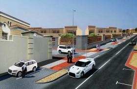 بلدية مدينة أبوظبي تنفذ أعمال بنية تحتية وطرق داخلية في الشوامخ
