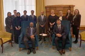 عقد الجولة الأولى من المشاورات السياسية بين الإمارات ونيوزيلندا