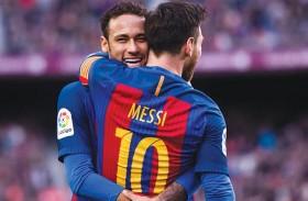 ميسي يتدخل لعودة نيمار إلى برشلونة