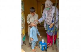 ضمن مبادرة محمد بن زايد .. تطعيم أكثر من 12 مليون طفل باكستاني ضد شلل الأطفال