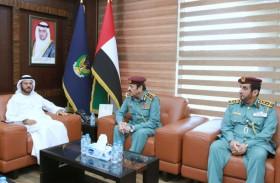 شرطة الفجيرة تستقبل وفد اللجنة العليا لمعرض آيسنار أبوظبي 2020