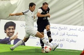 ختام بطولة كأس منصور بن زايد لكرة القدم الليلة  في فندق قصر الإمارات