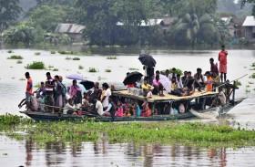 180 قتيلاً في جنوب آسيا جراء فيضانات وسيول