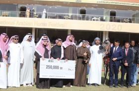 مربط دبي سلطان المهرجان بثلاثية ذهبية وبرونزية