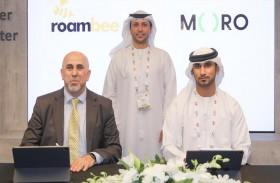 شركة «مركز البيانات للحلول المتكاملة» «مورو» توقع مذكرة تفاهم مع شركة « Roambee» الأمريكية لتوفير حلول تقنيات إنترنت الأشياء في المنطقة