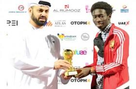 ملاعب الإمارات تقدم المقيم سعيد أحمد للاحتراف الخارجي