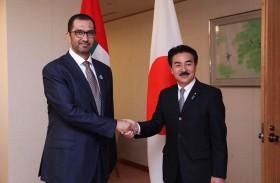 الإمارات واليابان تبحثان تعزيز العلاقات الثنائية ضمن مبادرة الشراكة الاستراتيجية الشاملة