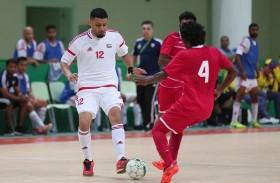 منتخب الإمارات لكرة القدم للصالات يتغلب على المالديف 3-1في  آسيوية الصالات المغلقة