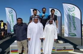 الغافري يتصدر السباق التأهيلي للهواة المواطنين للدراجات
