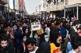 كسر محرمات اجتماعية في تظاهرات العراق