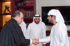 أمام مكتوم بن محمد ..قاضي استئناف جديد بمركز فض المنازعات الإيجارية يؤدي اليمين القانونية